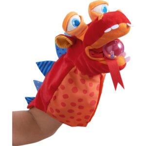 Zmeul nesatul - Marioneta de mana copii - original HABA prin Didactopia