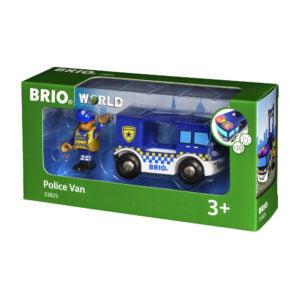 DUBA DE POLITIE-Trenulet Lemn original BRIO-BRIO33825