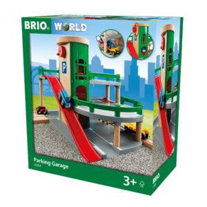 PARCARE ETAJATA-Trenulet Lemn original BRIO-BRIO33204
