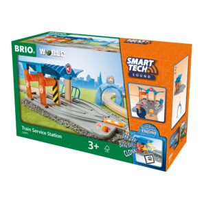 SERVICE PENTRU TRENURI-Trenulet Lemn original BRIO-BRIO33975