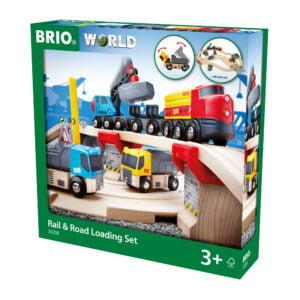 SINA TREN SET INCARCARE-Trenulet Lemn original BRIO-BRIO33210