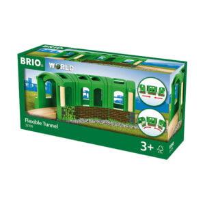 TUNEL FLEXIBIL-Trenulet Lemn original BRIO-BRIO33709