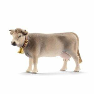 Vaca Brună 13874 - Farm World - Figurina originala Schleich - Didactopia