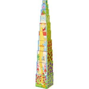 Rapunzel - Turn de stivuit - Numărare, adunare de la 1 la 10 - Haba prin Didactopia 4