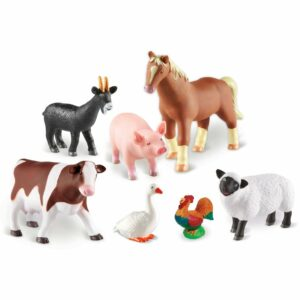 Animale de la fermă- Jumbo - Joc de rol - Learning Resources - 2