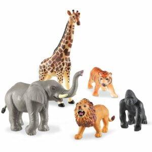 Animale din junglă - Jumbo - Joc de rol - Learning Resources prin Didactopia - 1