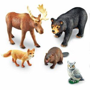 Animale din pădure - Jumbo - Joc de rol - Learning Resources - 4
