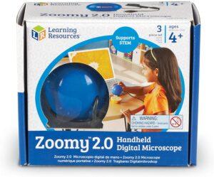 Zoomy™ 2.0 - Microscop digital portabil - Learning Resources prin Didactopia -2